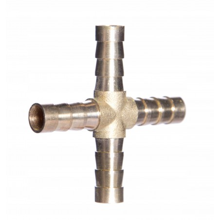 Czwórnik pneumatyczny do węża 8 mm