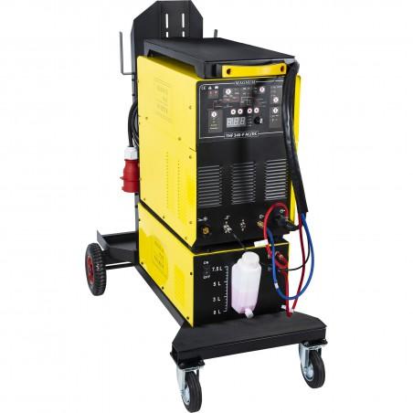 Spawarka inwertorowa MAGNUM TIG THF 340W AC/DC PULS z chłodnicą i sterowaniem nożnym