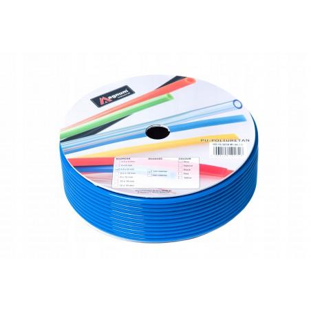 Przewód poliuretanowy MAGNUM 6x4 mm niebieski
