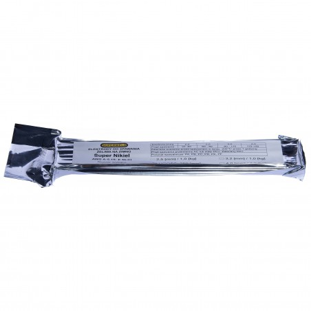 Elektroda do żeliwa Ni-Cl Ø 2.5x350 1kg SUPERWELD