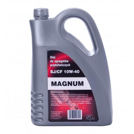 Olej silnikowy półsyntetyczny MAGNUM 10W-40 5L