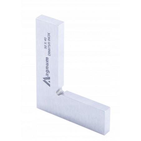 Kątownik płaski MAGNUM 50x40 mm DIN 875/0