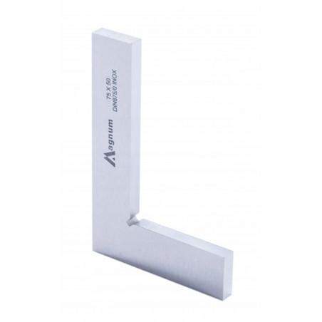 Kątownik płaski MAGNUM 75x50 mm DIN 875/0