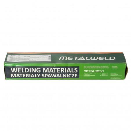 ELEKTRODY RUTYLOWE METALWELD RUTILEN P 4,0X350 5KG