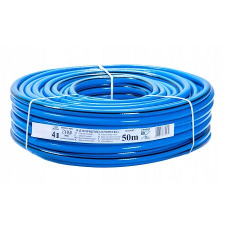 Wąż techniczny niebieski 4-warstwowy PCV - 10MM