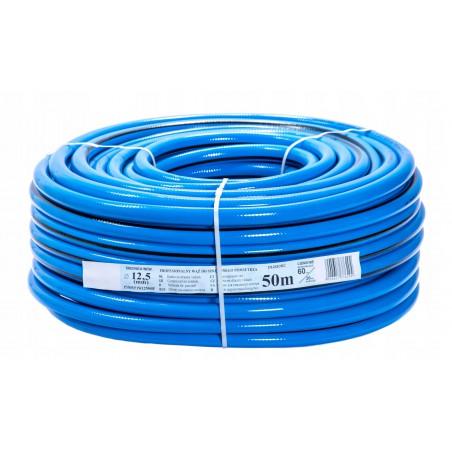Wąż techniczny niebieski 4-warstwowy PCV - 12,5MM